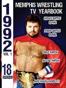 1992 Memphis Wrestling Tv Yearbook 1