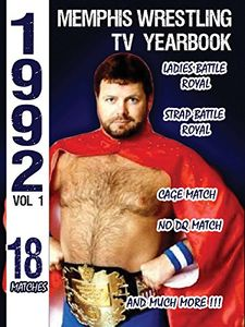 1992 Memphis Wrestling Tv Yearbook 1
