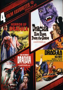 4 Film Favorites: Draculas