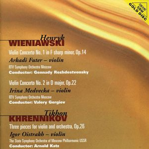 Wieniawski: VLN Ctos Nos 1 & 2