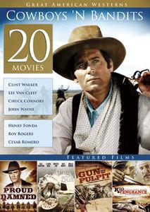 20-Film Great American Westerns: Cowboys N Bandits