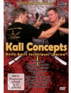 Kali Concepts Knife Basic Techniques Baraw [Import]
