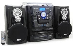 Jensen JMC-1250 Turntable (CD, Cassette & Remote)