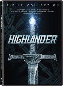 Highlander: 5-Film Collection