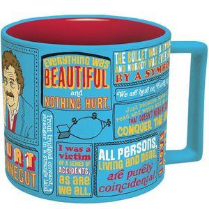 Kurt Vonnegut 12 Oz Coffee Mug