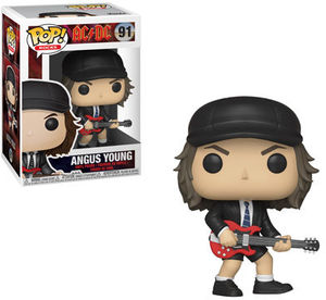 FUNKO POP! ROCKS: AC/ DC - Angus Young (Styles May Vary)