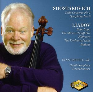 Lynn Harrell Plays Shostakovich & Liadov
