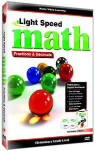 Light Speed Math: Fractions and Decimals
