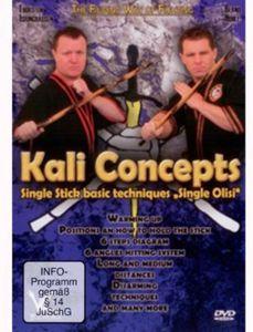Kali Concepts Single Stick Basic Techniques Single [Import]