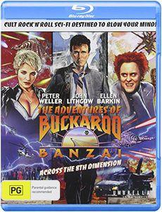 The Adventures of Buckaroo Banzai Across the 8th Dimension [Import]