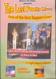 Last Poets Live: One of the Best Rappers Ever