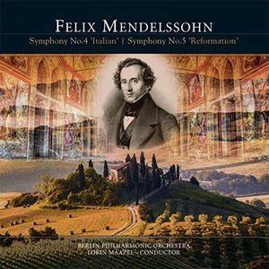Symphony No. 4 Italian /  Symphony No. 5 Reformatio [Import] , Felix Mendelssohn