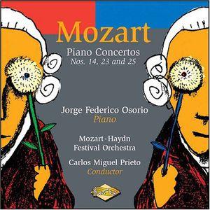 Piano Concertos 14 23 & 25