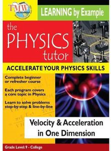 Velocity and Acceleration in One Dimension