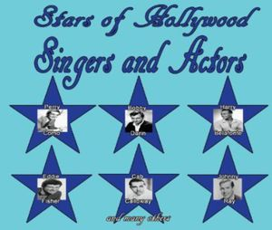 Singers and Actors, Vol. 1