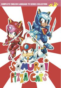 Samurai Pizza Cats DVD Collection