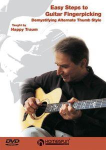 Easy Steps to Guitar Fingerpicking: Volumes 1-3