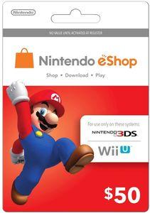 Nintendo E-Shop $50 Card