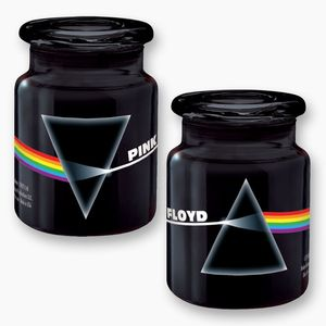 Pink Floyd Dark Side Of The Moon 6 oz Jar (black)
