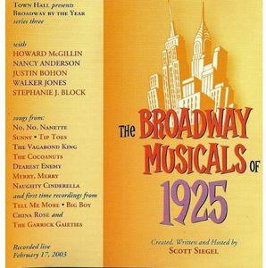 Broadway Musicals Of 1925