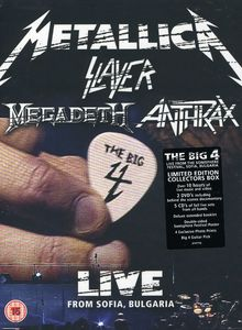 Big Four: Live from Sonisphere: Super Deluxe [Import]