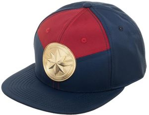 Marvel Comics Captain Marvel Suitup Snapback Baseball Cap
