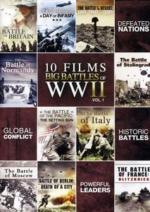 10-Film Big Battle of WwII: Volume 1