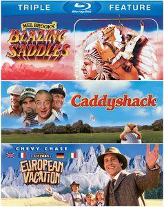 Blazing Saddles /  Caddyshack /  National Lampoon's European Vacation
