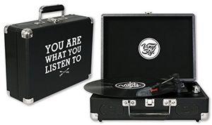 Vinyl Styl™ Groove Portable 3 Speed Turntable (Listen)