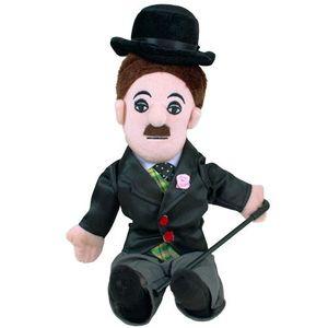 "Charlie Chaplin Little Thinker 12"" Plush"