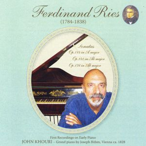 Ferdinand Ries: His Last Three Piano Sonatas