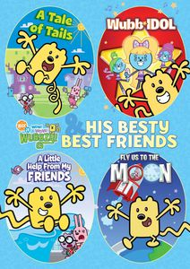 Wubbzy and His Besty Best Friends 4-Pack