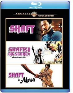 Shaft /  Shaft's Big Score! /  Shaft in Africa , Gwen Mitchell