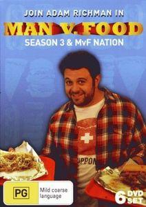 Man Vs Food - Season 3 + Nation Collection [Import]