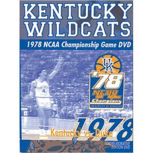 1978 NCAA Championship Game Kentucky Wildcats