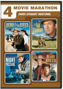 4 Movie Marathon: James Stewart Westerns