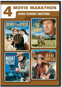 4 Movie Marathon: James Stewart Westerns