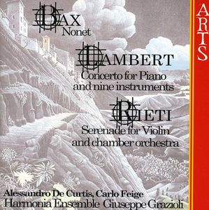 Nonet /  Piano Concerto /  Violin Serenade