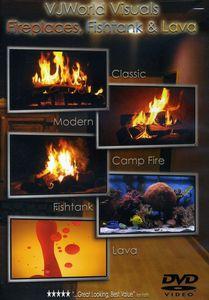 VJworld Visuals: Fireplaces, Fishtank and Lava