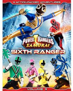 Power Rangers Samurai: The Sixth Ranger: Volume 4