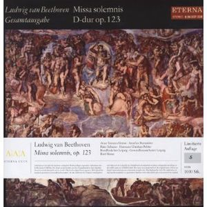 Missa Solemnis Op 123 , Ludwig van Beethoven