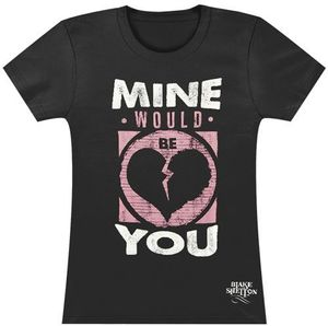 Mine Would Be You Broken Heart