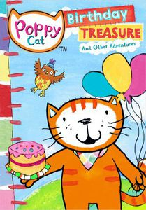 Poppy Cat: Birthday Treasure and Other Adventures
