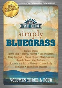 Country Family Reunion:  Simple Bluegrass: Volume 3-4