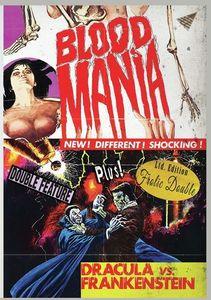Blood Mania/ Dracula Vs. Frankenstein