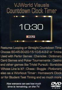 VJ World Visuals Countdown Clock Timer: VJ World