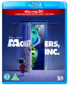 Monsters Inc 3D [Import]