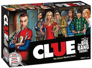 Clue Big Bang Theory Edition