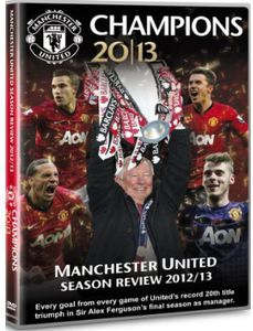 Manchester United Champions Season Review 2012/ 13 [Import]
