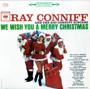 We Wish You a Merry Christmas  (White) , Ray Conniff Singers